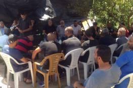 أم الفحم: فتح 3 بيوت عزاء لشهداء عملية القدس واجتماع طارئ في البلدة
