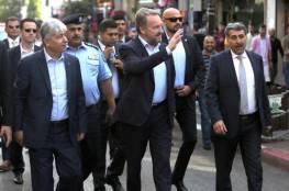 الرئيس البوسني يتجول في رام الله ويتذوق الفلافل والبوظة ومناقيش الزعتر