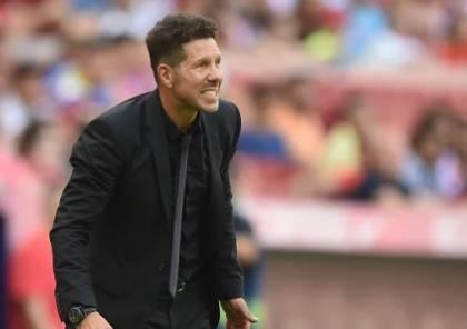 أتلتيكو مدريد يسجل أسوأ بداية في عهد سيميوني
