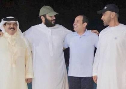 """""""لقاء ودي سري"""" لقادة مصر والسعودية والإمارات والبحرين"""