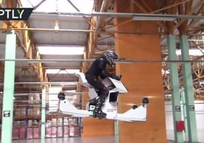 شاهد بالفيديو: علماء روس يخترعون لوحاً طائراً