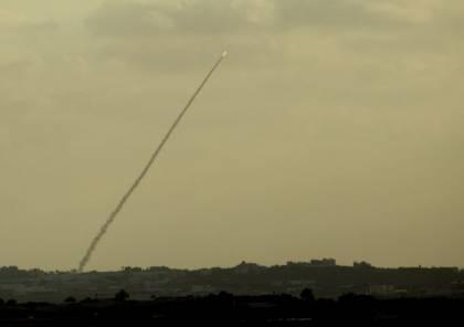 إطلاق صاروخ تجريبي من غزة باتجاه البحر