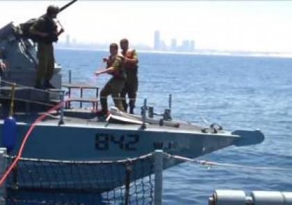 بحرية الاحتلال تستهدف الصيادين قبالة بحر مدينة غزة