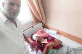 طفل مصاب في مسيرة العودة يناشد الملك عبدالله الثاني مساعدته لتكملة علاجه