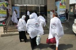 مغادرة أول فوج من حجاج غزة القاهرة متوجهاً للسعودية