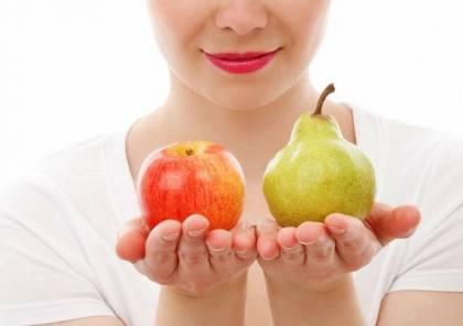 دراسة: النساء على شكل الإجاصة أكثر صحة من النساء على شكل تفاحة
