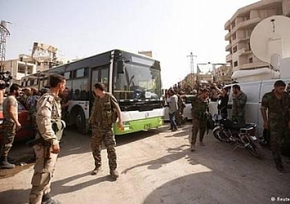 """""""رويترز"""": زغاريد وهتافات تتخلل مشهد الخروج من حلب والاسد يؤكد انه يوم تاريخي"""