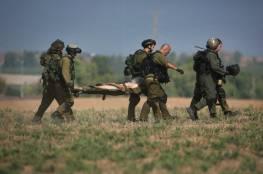 """اصابة 3 جنود اسرائيليين احدهم في حالة الخطر في قصف المقاومة لبلدات """"غلاف غزة"""""""
