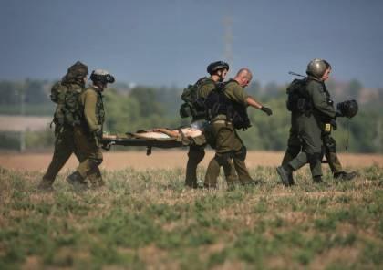إصابة جندي إسرائيلي بانقلاب جيب على حدود غزة