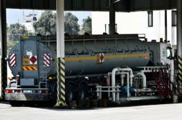 12 شاحنة وقود تدخل قطاع غزة