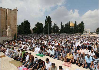 توجه 250 مصلٍ غزي إلى القدس