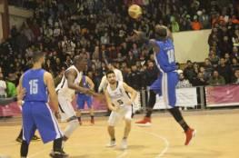 انتصار مثير لقلنديا على سرية رام الله في دوري السلة