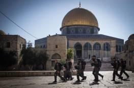 الاحتلال يعلن عن رفع حالة التأهب القصوى بالمسجد الاقصى غدا