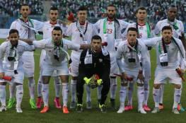 المنتخب الفلسطيني يصل الى جدة