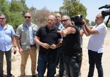 المتطرف بانيت في غلاف غزة : أدعم الهدنة مع حماس