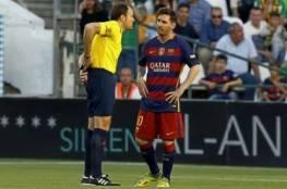 الحكم لاهوز اعتذر لبرشلونة عن إلغاء هدف ميسي