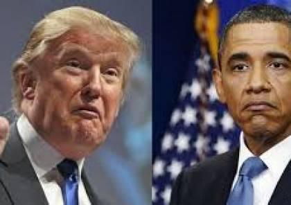"""ترامب: إدارة أوباما هي من خلقت """"داعش"""""""