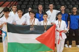 منتخب الشوتوكان الفلسطيني يعود من المانيا