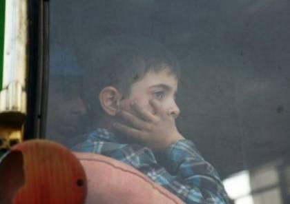 سوريا: مقتل طفل بإطلاق نار على حافلة مهجرين من دوما