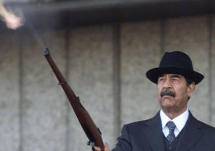 """شاهد الصور: """"صدام حسين """" في قلقيلية يثير جنون المتحدث باسم نتنياهو"""