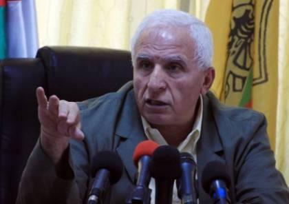 الأحمد: نتنياهو يريد سلطة حماس لاستمرار الانقسام و هي متورطة في صفقة القرن
