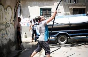 ازمة مياه طاحنة في غزة