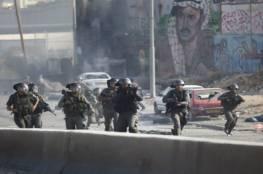 6 إصابات في اشتباك مسلح مع قوة من جيش الاحتلال بقلنديا