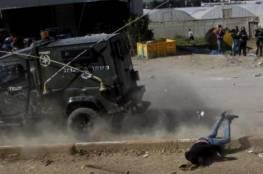 جنين: نجاة طالب من محاولة دهس من سيارة عسكرية