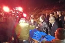الاحتلال يسلم جثمان الاسير الشهيد حسين عطالله على حاجز 109 شرق قلقيلية