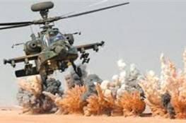 شاهد ..مقتل 3 تكفيريين وتدمير 8 أهداف إرهابية بعملية سيناء 2018