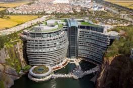 الصين تدشن أول فندق تحت الأرض