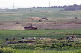 قوات الاحتلال تستهدف شرق غزة بالقذائف المدفعية وتفجر عبوتين على الحدود