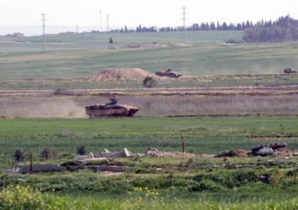 غزة: تحركات على الحدود وانفجارات يعتقد أنها لتفجير أنفاق اكتشفت من الاحتلال