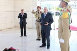 """الرئيس عباس : """" نتمنى أن يعود العيد علينا وقد أصبحت القدس محررة"""""""