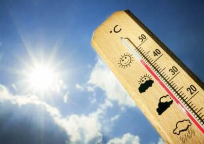 الجو حار ودرجات الحرارة أعلى من المعدل بـ3 درجات