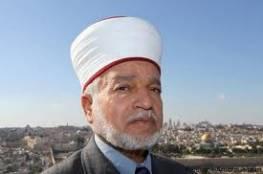 """مفتي القدس """"محمد حسين"""" : من يزعجه صوت الآذان فليرحل عن ارضنا"""
