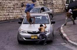 سيارة عسكرية إسرائيلية تدهس شاباً بقلقيلية