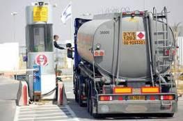 مصادر أمنية اسرائيلية : مضاعفة كمية الوقود الداخلة إلى غزة