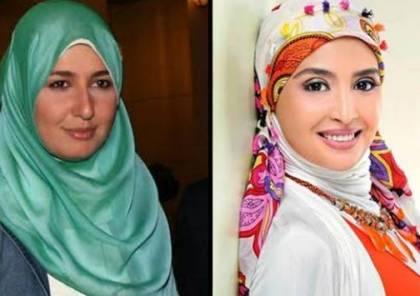 """تصرف صادم من حنان ترك بعد خلع """"حلا شيحة"""" للحجاب!"""