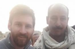 6 جهات ومطار عسكري لتأمين زيارته.. صور: ميسي يصل مصر ويزور الاهرامات