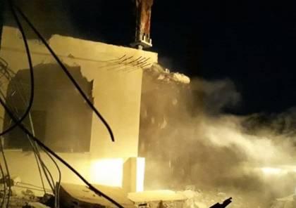 للمرة الثانية.. جرافات الاحتلال تهدم منزلا في خربة المراجم جنوب نابلس
