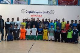 منتخب كرة اليد الشباب يبدأ تدريباته بغزة
