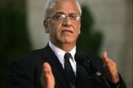 عريقات: ليبرمان هو الرئيس الفلسطيني والسلطة ستختفي قريباً