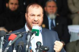 حماد يحذر من الانفجار أو رفع الحصار و المقاومة لن تبقى مستسلمة للأزمات المفروضة على القطاع