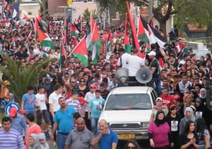 غزة: بدء توافد المواطنين للخيام على السياج الحدودي القطاع