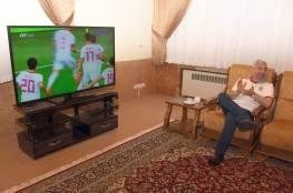 شاهد.. الرئيس الإيراني روحاني لحظة تسجيل هدف بلاده في مرمى المغرب