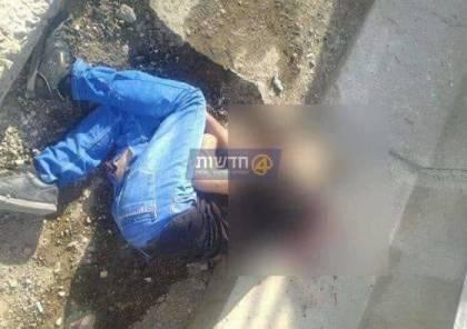 صور: استشهاد شاب قرب رام الله بزعم محاولة طعن