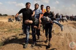 اصابتان في استهداف طائرات الاحتلال لمطلقي الطائرات الورقية شرق جباليا