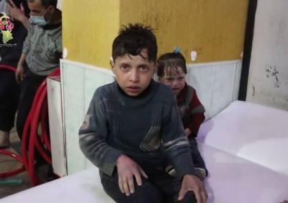 فيديو.. شهادة طفل ظهر في فيديو الهجوم الكيميائي المزعوم في دوما!