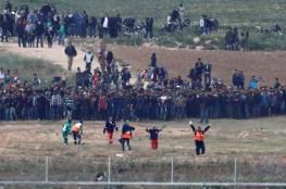 15 شهيدا و 1800 إصابة بمسيرات العودة في قطاع غزة